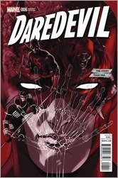 Daredevil #6 Cover - Lopez Story Thus Far Variant