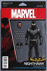 Nighthawk #1 Cover - Christopher Action Figure Variant