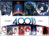 THE SUMMER OF 4001 A.D. – Poster