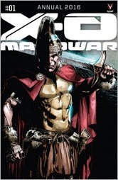 X-O Manowar Annual 2016 #1 Cover A - Jimenez