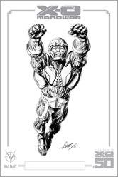 X-O Manowar #47 Micro Print - Braithwaite
