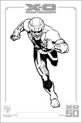 X-O Manowar #47 Micro Print - Nord