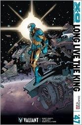 X-O Manowar #47 Cover - LaFuente Variant
