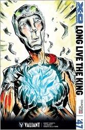 X-O Manowar #47 Cover - Lemire Variant