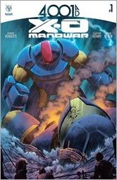 4001 A.D.: X-O Manowar #1 Cover A - Cafu