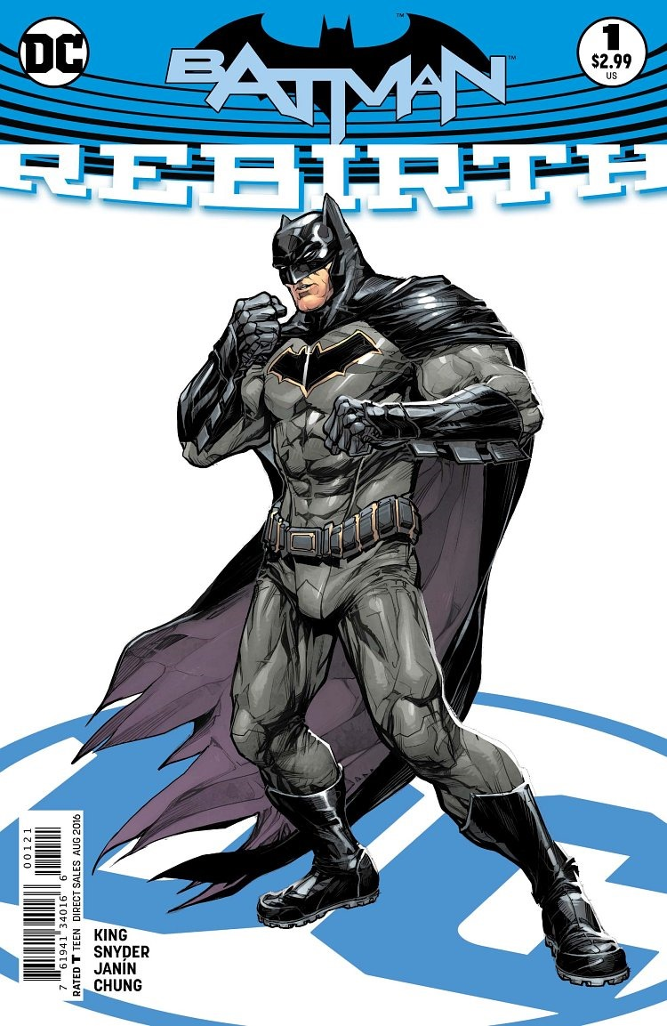 first look at batman  rebirth  1 by snyder  king   u0026 janin