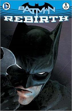 Batman: Rebirth #1 Cover