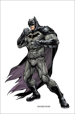 Batman: Rebirth #1 Cover - Porter Variant