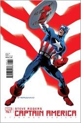 Captain America Steve Rogers #1 - Steranko Variant