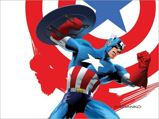 Captain America's 75th Anniversary - Jim Steranko
