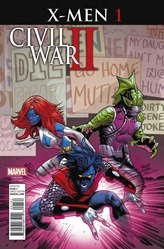 Civil War II: X-Men #1 Cover - Land Variant