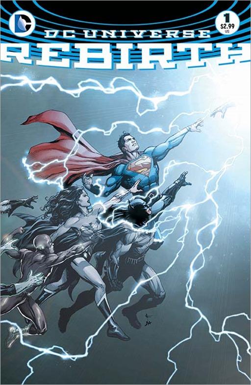 DC Universe Rebirth Special Cover