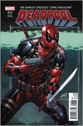 Deadpool #13 Cover - Liefeld Variant