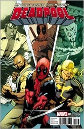 Deadpool #13 Cover - Stevens Power Man and Iron Fist Variant