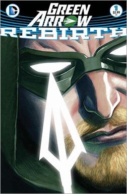 Green Arrow: Rebirth #1 Cover