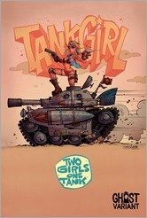 Tank Girl: Two Girls One Tank #1 Cover - Ghost Variant Group Variant