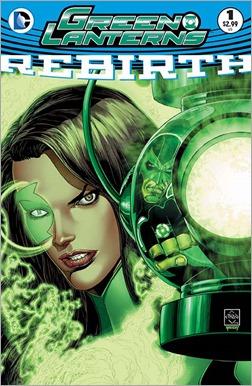 Green Lanterns: Rebirth #1 Cover