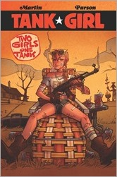 Tank Girl: Two Girls One Tank #1 Cover - Hastings Variant