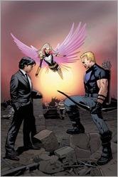 New Avengers #12 Cover - Land Civil War Reenactment Variant