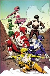 Mighty Morphin Power Rangers #3 Cover C - Greene Variant