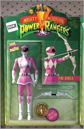 Mighty Morphin Power Rangers #3 Cover E - Action Figure Variant