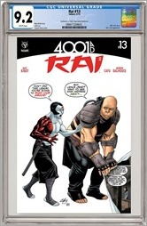 Rai #13 Cover - Henry CGC Variant