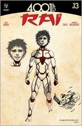 Rai #13 Cover - CAFU Design Variant