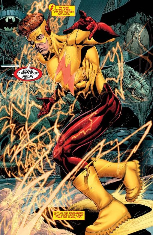 DC Universe: Rebirth #1 - Wally West Returns
