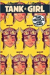 Tank Girl: Two Girls One Tank #1 Cover - Rick's Comic City Variant