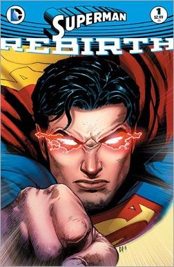 Superman: Rebirth #1 Cover