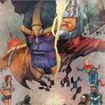 Thanos vs. The Ultimates in Ultimates #8 – A Civil War II Tie-in