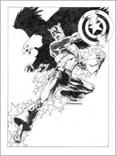 Uncanny Avengers #11 - Steranko Variant Black and White