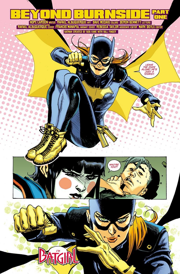 First Look At Batgirl 1 By Larson Amp Albuquerque