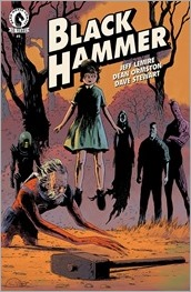 Black Hammer #1 Cover