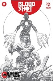 Bloodshot Reborn #14 Cover - Giorello Sketch Variant