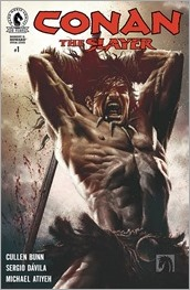 Conan The Slayer #1 Cover - Bermejo