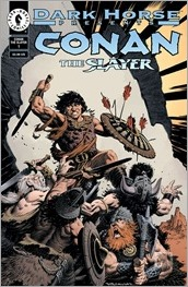 Conan The Slayer #1 Cover - Schultz