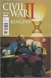 Civil War II: Kingpin #1 Cover - Ribic Variant