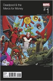 Deadpool And The Mercs For Money #1 Cover - Nakayama Hip-Hop Variant