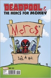 Deadpool And The Mercs For Money #1 Cover - Young Variant