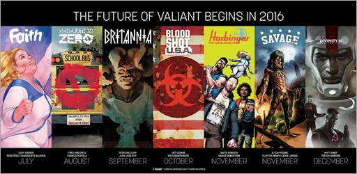 Future of Valiant 2016 Poster