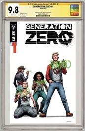 Generation Zero #1 Cover - Perez CGC Variant