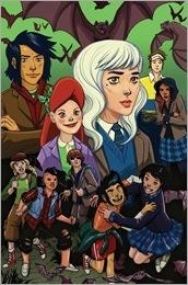 Lumberjanes/Gotham Academy #1 Cover D