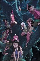 Lumberjanes/Gotham Academy #1 Cover E