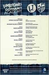 Lumberjanes/Gotham Academy #1 Preview 1