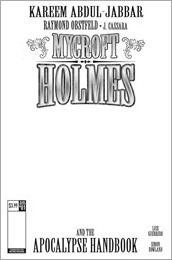 Mycroft Holmes: The Apocalypse Handbook #1 Cover E - Blank