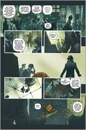 Mycroft Holmes: The Apocalypse Handbook #1 - Lettered Preview 1