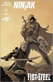 Ninjak #18 Cover B - Bodenheim