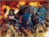 Ninjak #18 Cover - Gorham Interlocking Variant