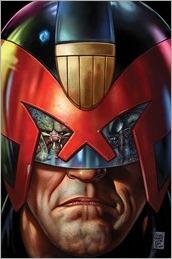 Predator vs. Judge Dredd vs. Aliens #1 Cover - Fabry